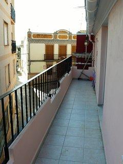 terraza/balcón.