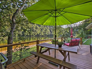 NEW! Waterfront Cottage w/Deck on the White River!