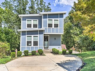 NEW! Hip East Nashville Home w/ Deck - 8 Mi. to DT