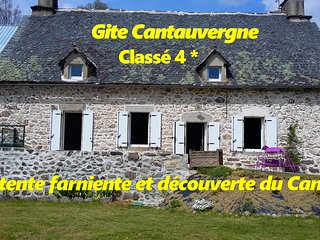 Gite Cantauvergne 4* avec BALNEO et SAUNA au coeur de l'Auvergne