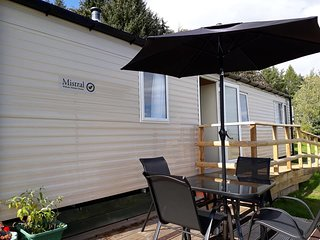 NEW 2018 2 bedroom LUXURY Willerby MISTRAL Caravan BEAULY Scottish Highlands