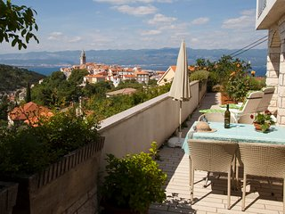Vacation in the picturesque town on the island of Krk