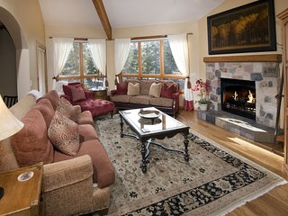 An easy walk to the Chair Lift #20 from this gorgeous vacation condo in Vail alo