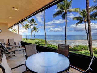 Stunning Beach Front Condo Makena Surf Resort # E-204