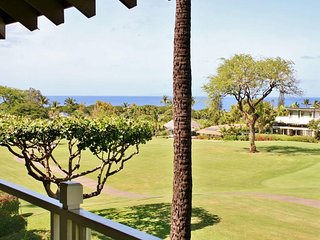 Stunning Golf & Ocean Views - Wailea Grand Champions #180
