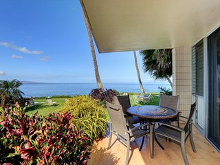 Steps to the Beach - Oceanfront Views- Kamaole Nalu #106