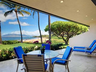 Oceanfront Living 2 Bed 2 Bath Condo- MAKENA SURF RESORT, #E-104