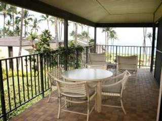 Beautiful Elua Village 1BR Oceanfront Unit Wailea Elua Village # 1402