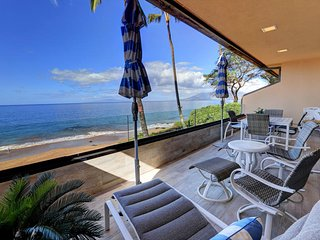 Fantastic Location - Beautiful Beach Front Condo -Makena Surf # B-207