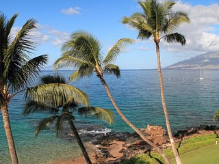 Closest to the Water - Unobstructed 180+ View -  Kamaole Nalu #406