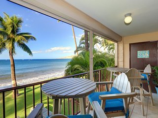 Both Bathrooms Newly Remodeled-12 Yds to the Beach-From -Kihei Beach #207