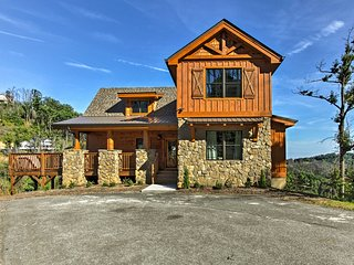 Sevierville Home w/Hot Tub, Theater & Game Room!