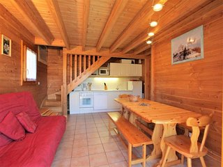 chalet 9 pers. 75 m2  Sud