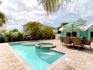 NEW LISTING! Dog-friendly home w/private pool, near beach, shopping, dining