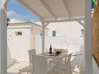 Stylish terrace on the centre of Ostuni