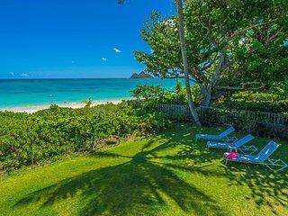 Lanikai beach front luxury original Hawaiian private villa