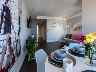 A Brand New, Legal, 1BR with small deck in Downtown Victoria.