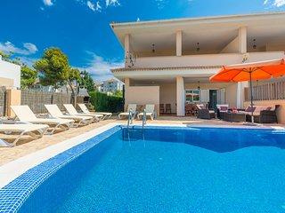 JERONIMO :) Villa para 8 personas en Playas de Muro