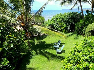 Pacific Paradise! Oceanfront 1BR w/ Lush Backyard & Private Beach Access