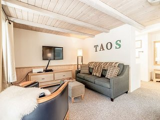 Newly Remodeled 1BR w/ Ski Storage - Walk to Ski Lifts at Taos Ski Village