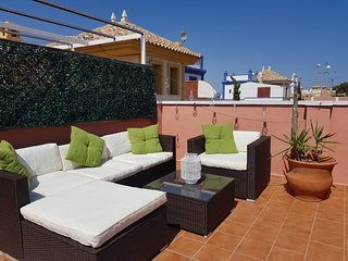 3 Bedroom Rustic Style Villa Sleeps Six Overlooking Communal Swimming Pool