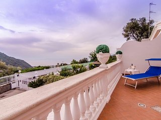 Villa - private pool and sea view