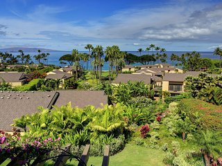 Remodeled Second Floor 2 BDRM Condo Wailea Elua Village # 202