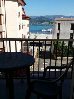 Balcón con vistas.