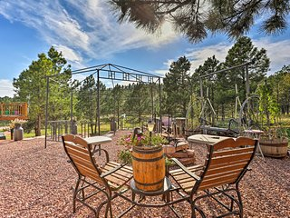 NEW! Hermosa Ground-Lvl Home on 5 Acres w/Fire Pit