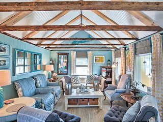 Plum Island Beach Cottage w/ 2 Kayaks + Fire Pits!