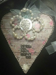 Take home a  handmade Lakeland Heart ❣ £15 from Every Button tellls a Story
