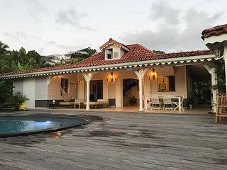 Villa de charme avec piscine et vue mer aux Trois Ilets