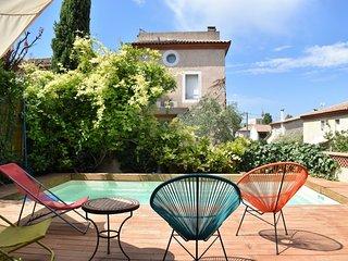 Air Rental - Jolie Villa avec piscine et jardin