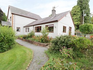 BRO AWELON COTTAGE, cosy annexe, attached to owner's home in 5 acres of