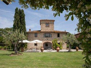 5 bedroom Villa in San Casciano in Val di Pesa, Tuscany, Italy : ref 5218193