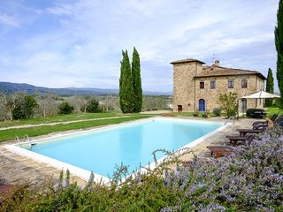 8 bedroom Villa in Bellavista, Tuscany, Italy : ref 5218122