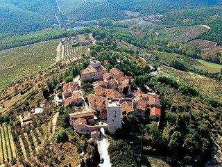 4 bedroom Villa in Vertine, Tuscany, Italy : ref 5343550