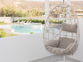Depis Edem Plaka beach Naxos Yellow Villa with pool