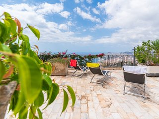 Spacious home with fabulous views over Funchal bay.