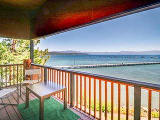 NEW LISTING! Lakefront condo with views, lake access, shared pool, and tennis!