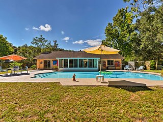 NEW! Longwood Family House w/ 1-Acre Yard & Pool!