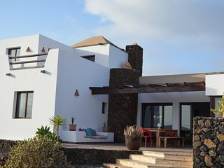 Beautiful villa with private pool in Lajares