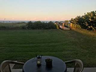 Ocean Front, Actual view from Living room-closest to the Ocean in Cocoa Beach!