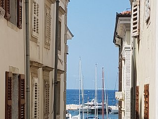 Seaview Romantic Apartment - NEW,  Heart of Piran