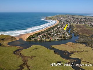 WERRI VILLA, Werri Beach, Gerringong -  4pm check out Sundays!