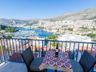 Apartment Klio - Two Bedroom Apartment with Balcony and Sea View