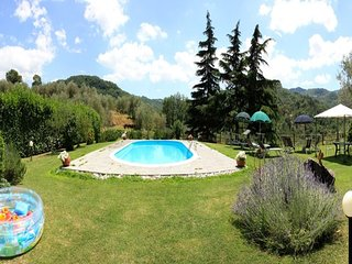 4 bedroom Villa in Montelaterone, Tuscany, Italy : ref 5647134