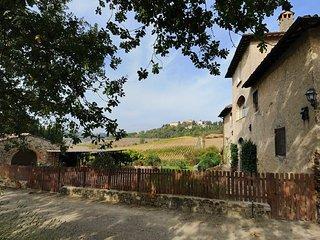 6 bedroom Villa in Montefiridolfi, Tuscany, Italy : ref 5218135