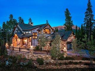 Snowflake Chateau Luxury Ski-In / Ski-Out Home Hot Tub Breckenridge Colorado
