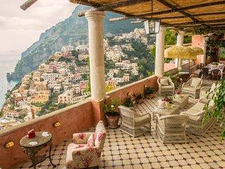 Positano Villa Sleeps 16 with Pool Air Con and WiFi - 5218477